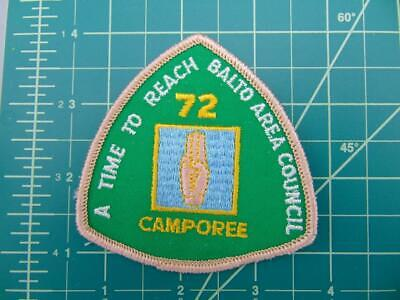 Vintage Boy Scouts of America BSA Patch 1972 BAC Camporee