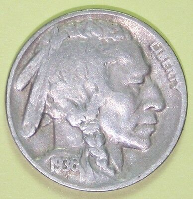 US Buffalo Nickels 1936-D or 1937-D   good  price each coin   Generic photos