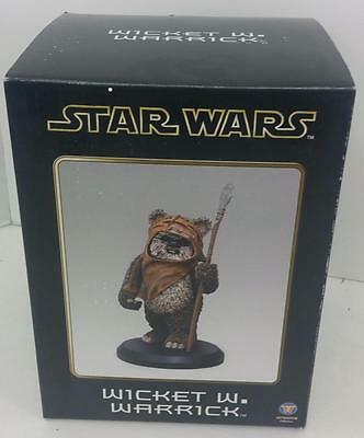Attakus Wicket W Warwick Statue #1465 Mint In Box Sealed
