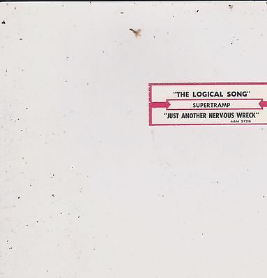 Supertramp-Logical Song Jukebox Title Strip