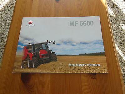 Massey Ferguson Brochure Mf5600  Excellent Condition