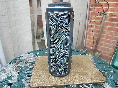 "Wade "" Celtic "" Large Cylindrical Vase"
