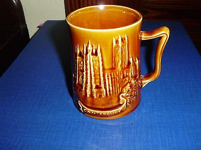 Withernsea Eastgate Pottery Canterbury And Kent Map Mug