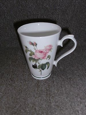 Roy Kirkham Redoute Roses Footed Bone China Mug