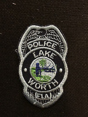 Lake Worth  Florida  Police  Patch
