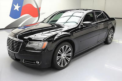 2013 Chrysler 300 Series  2013 CHRYSLER 300 S HEMI LEATHER PANO NAV BEATS 69K MI #744820 Texas Direct Auto