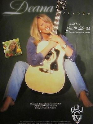 Deana Carter, Guild Guitars, Full Page Promotional Ad