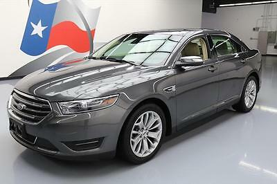 2015 Ford Taurus  2015 FORD TAURUS LIMITED CLIMATE SEATS NAV REAR CAM 38K #141197 Texas Direct