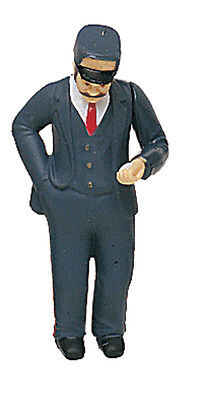 BACHMANN Posable Train Conductor Man G-Scale Figure #92311 Brand New