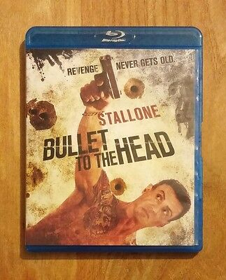 Bullet to the Head (2013) Like New Blu-ray + DVD Sylvester Stallone, Sung Kang