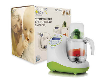 Cherub Baby Steamer Blender Bottle Steriliser & Warmer Demo Units ON SALE