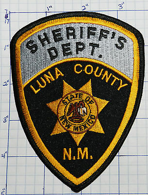 New Mexico, Luna County Sheriff's Dept Black Patch