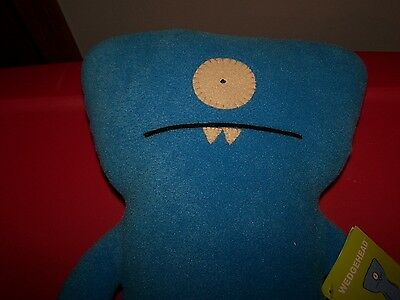 """2003 Uglydoll WEDGEHEAD 13-14"""" Stuffed Toy ~ New with Tags"""