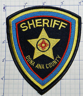 New Mexico, Dona Ana County Sheriff Dept Patch