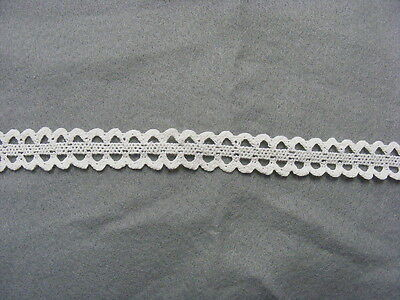 Cluney Cotton White Galloon Lace - 10mts (od7028)
