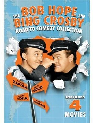 On the Road with Bob Hope and Bing Crosby: The Franchise Coll (REGION 1 DVD New)