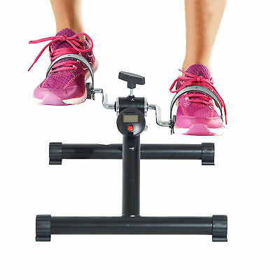 Soozier Cardio Mini Cycle Arm Leg Exercise Pedal Bike with LCD Display Trainer