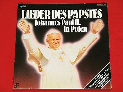 Papst Johannes Paul II. - LP  (mint) Lieder in Polen / Crystal 1979