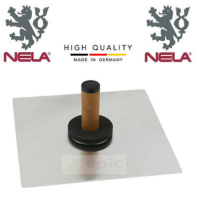 "NELA Aluminium Plasterers Hawk Plastering Board Biko Grip Choose 13"", 14"" or 16"""