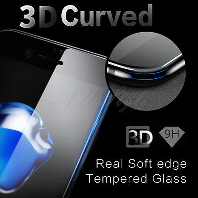AU 3D Full Coverage Tempered Glass Screen Protector For Apple IPhone 6 6S 7 Plus