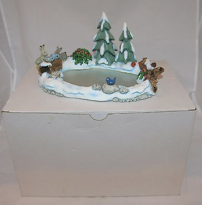 Goebel Hummel 'Icy Adventure' Display Scene Skating Rink 1039-D + Original Box