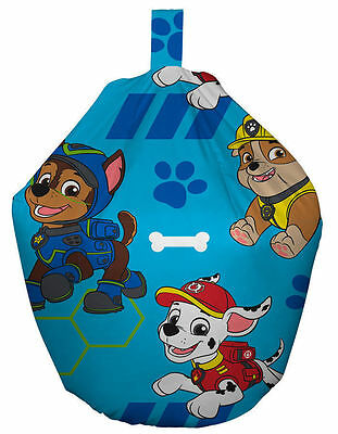 Paw Patrol Spy Chase Kids Boys 3ft Bean Bag Filled Chair Seat Bedroom Play Room