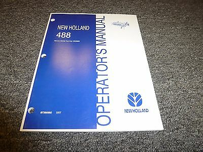 new holland 489 haybine service manual