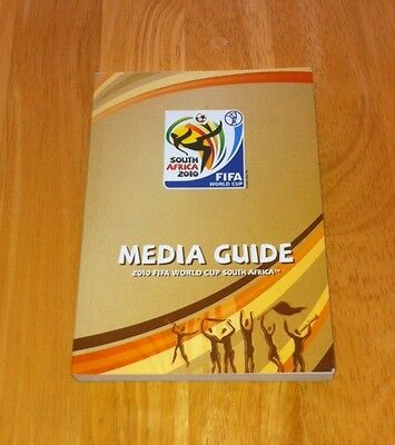 Rare 2010 World Cup Media Programme (South Africa 2010)  Excellent Condition