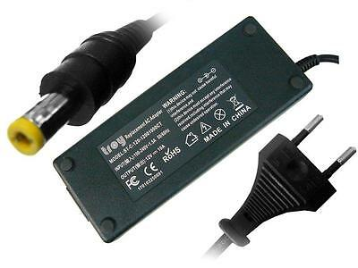 Troy Netzteil Adapter Trafo Powercord für LCD/TFT Monitor 12V 10A