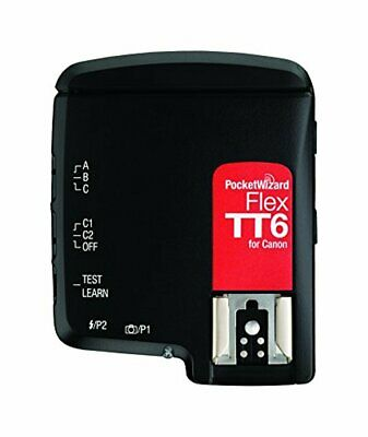 NEW PocketWizard FlexTT6 Transceiver for Canon Cameras & Flashes