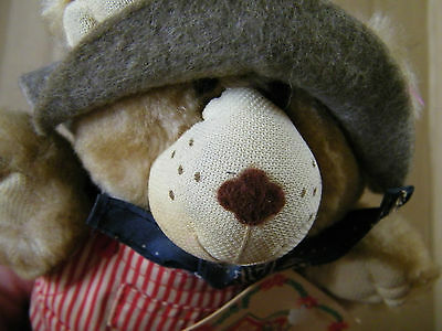 Wendy's 1986 Dudley Furskin Bear 7 Inch Plush Doll With Tag