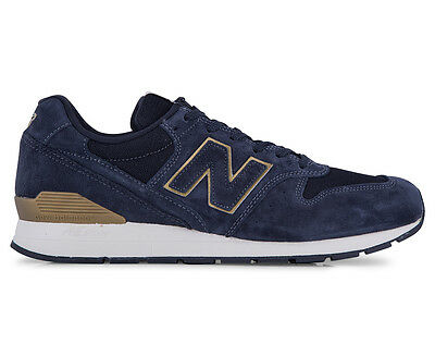 New Balance Men's 996 Shoe - Black/Gold