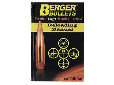 Berger 1st Edition Reloading Manual Stock # 11111 Free shipping
