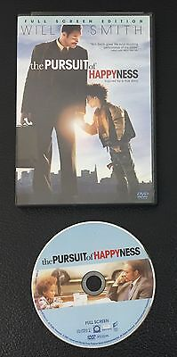 The Pursuit of Happyness (DVD, 2007, Full Frame)  Will Smith, Jaden Smith