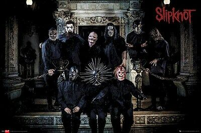 SLIPKNOT ~ MANTLE GROUP 24x36 MUSIC POSTER Corey Taylor Shawn Crahan NEW/ROLLED!