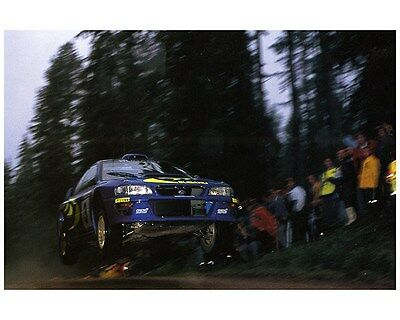 1998 Subaru Impreza WRX 555 STi WRC World Rally Champion Factory Photo ca7477