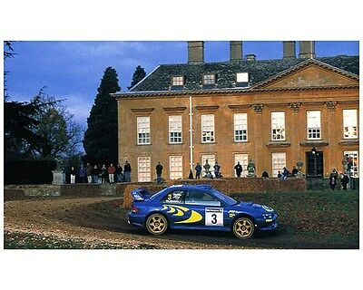 1998 Subaru Impreza WRX 555 STi WRC World Rally Champion Factory Photo ca7480