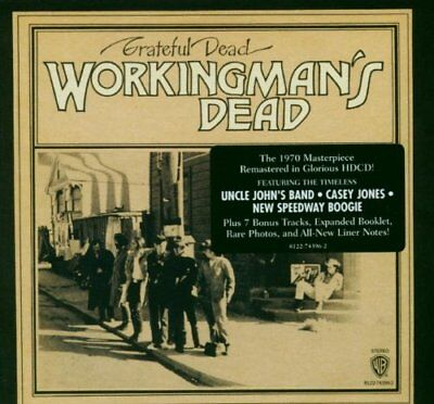 Grateful Dead Workingmans Dead Remastered & Expanded Cd Brand New