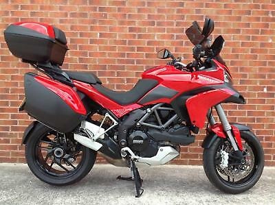 Ducati Multistrada 1200S Touring - Skyhook suspension