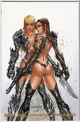 Witchblade #109 Jay Company LBCC 2009 White Cover Variant NM/NM+ Limited 500