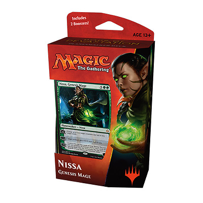 MTG HOUR OF DEVASTATION * Planeswalker Deck - Nissa, Genesis Mage