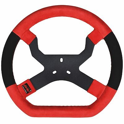 AIM Motorsport MyChron5 Kart / Race Steering Wheel In Red - 3 Hole