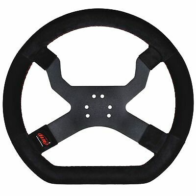 AIM Motorsport MyChron5 Kart / Race Steering Wheel In Black - 6 Hole