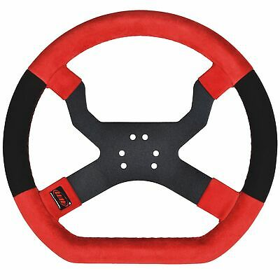 AIM Motorsport MyChron5 Kart / Race Steering Wheel In Red - 6 Hole