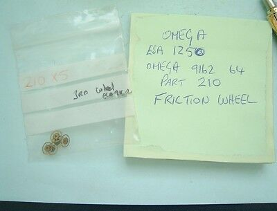 Watchmaker omega friction wheel ESA 1250 9162 9164 part 210 new old stock omega