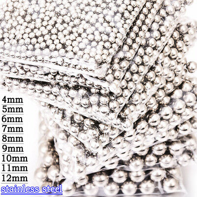 Wholesale Silver Ball Bearings 316L Stainless Steel Balls 4/5/6/7/8/9/10/11/12mm