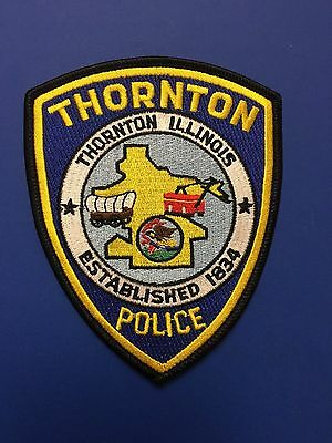 Thornton Illinois  Police     Shoulder Patch