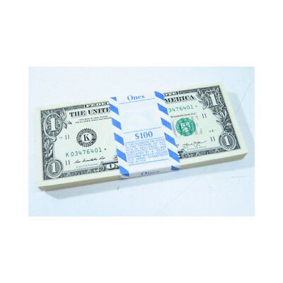 Strap of Star Note Dollar Bills Uncirculated and Sequencial