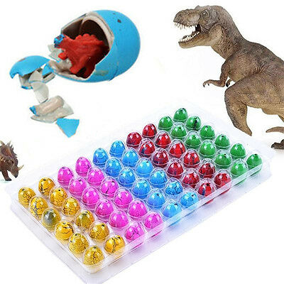Large Funny Magic Growing Hatching Dinosaur Eggs Christmas Child Toy Gifts