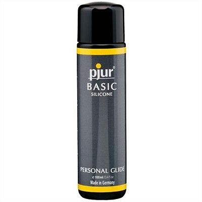 Pjur Basic Personal Glide 100 ml Silicone Based Lubricant Comfortable Lube New